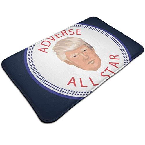 Donald Trump Adverse All Star Deurmat Entree Antislip Badmat Keuken Vloer Tapijt Mat 19,5 X 31,5 Inch