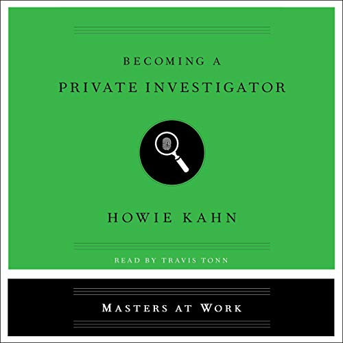 Becoming a Private Investigator audiobook cover art