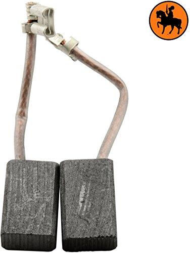 Buildalot Specialty Kohlebürsten ca-03-01880 für Spit Hammer 351-6,4x10x15,5mm - Mit Kabel und Stecker - Ersatz für Originalteile 618690