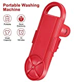 Portable Washing Machine | Handy Washing Machine | Mini Washer | Bucket Use | Travel & Outdoor Electric Compact Washer |Suitable for Single Person, Bachelors