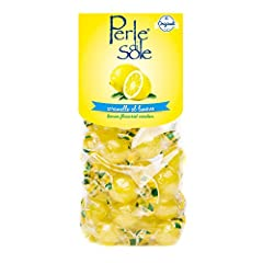 Directly from the Amalfi Coast, these are the same lemon balls that you found in Capri or Positano. Sour lemon hard candy with fizzy lemon filling Rekindle the flavors of Positano