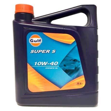 Gulf Super S 10W40 5 litros. Aceite sintético de la más alta...