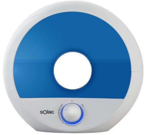 Solac 238426 Humidificador ultrasonidos, 35 W, 2 litros, Blanco y azul