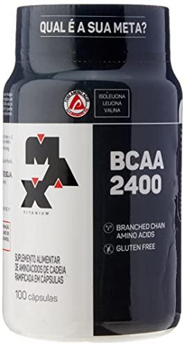 BCAA 2400 - 100 Cápsulas - Max Titanium, Max Titanium