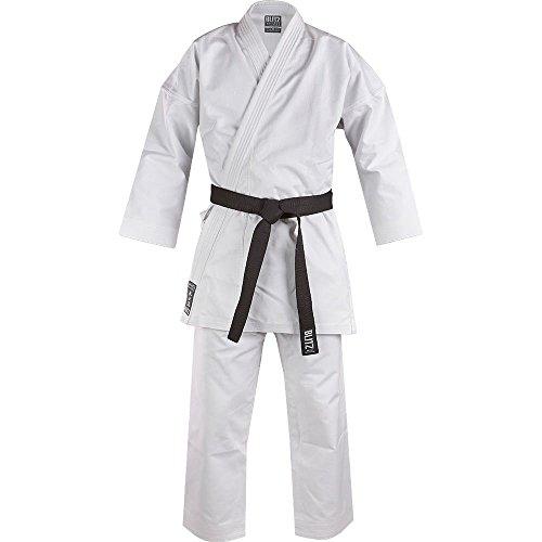 Blitz White Diamond Kimono de Karate, Color Blanco, Unisex, Color Blanco, tamaño 5-180 cm