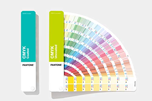 PANTONE GP5101A CMYK Set Coated & Uncoated Referencia Color, Multicolor