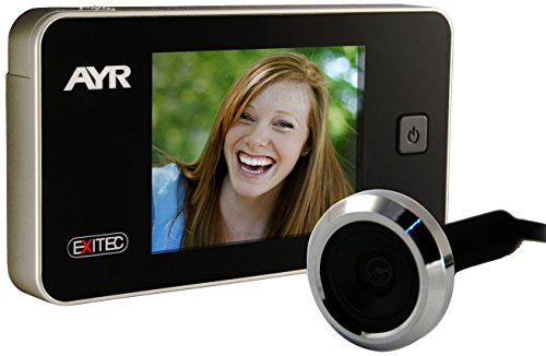 "Ayr Exitec 752 - Mirilla Digital (pantalla de 3.2"" 38-110 mm, 0.3 Mp),"