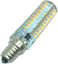 LEDMOMO E12 AC 220V 6W 3000-3500K SMD 4014 80-LED Bulbs Dimmable LED Lights (Warm White)