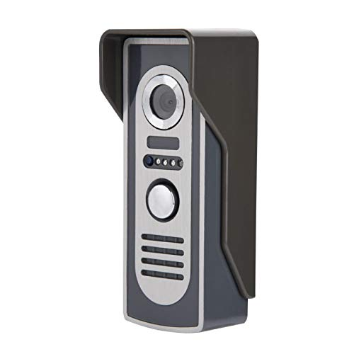 Intercomunicador Timbre bidireccional Intercomunicador infrarrojo Cámara de visión Nocturna Timbre, para Entrada(Australian regulations)