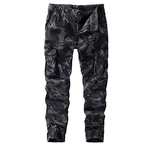 N\P Otoño Hombres Casual Pantalones Camuflaje Leggings Monos