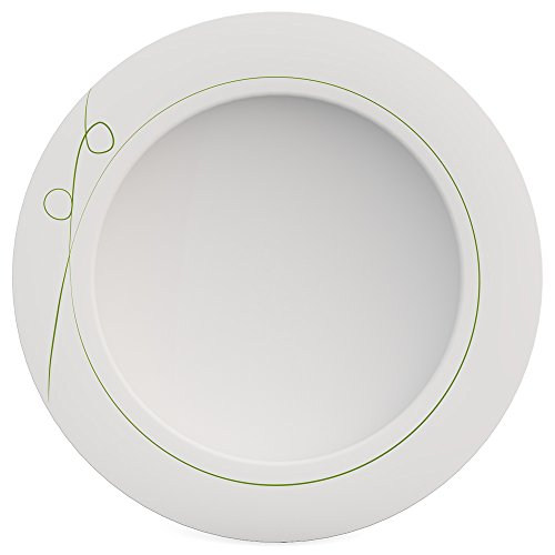 Ornamin Teller tief Ø 24 cm Esprit grün, Melamin, Suppenteller
