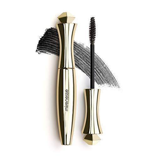 Mirenesse Secret Weapon Original 24hr Mascara, Lengthens & Curls Lashes, Microwrap Tubing Formula, Winner 13 Best Mascara Awards, Long Lasting, Safe Sensitive Eyes, Vegan & Toxin Free, Black 0.35oz