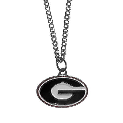 NCAA Siskiyou Sports Fan Shop Georgia Bulldogs Chain Necklace 22 inch Team Color