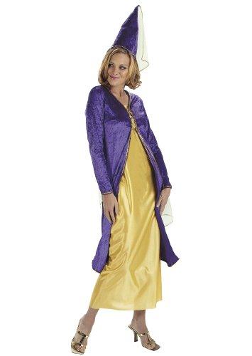 Cesar - A126-001 - Costume - Femme Médiévale - Cintre - Violette - T 38/40 cm