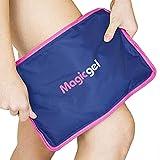 Bolsa de gel frío para lesiones reutilizable. Compresa gel hielo para hinchazón, alivio del dolor, fisioterapia y recuperación más...