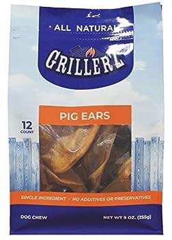 Scott Pet GRILLERZ Pig Ears 12CT  AT153