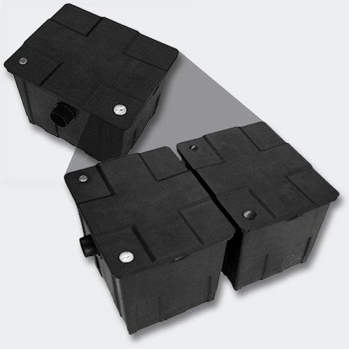SunSun CBF-350B Bio Teichfilter Upgrade Set 1 auf 60000L Teichvolumen Durchlauffilter