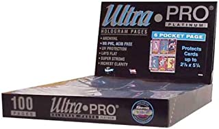 ultra pro 6 pocket pages