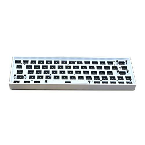 Teclado mecánico GK61X DIY Hot Swap con cable, RGB, compatible con Cherry...