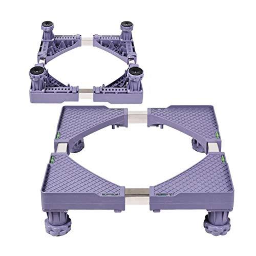 DNSJB instelbaar opzetstuk van de trommelwasmachine basishouder voor verhoogd koelkastframe