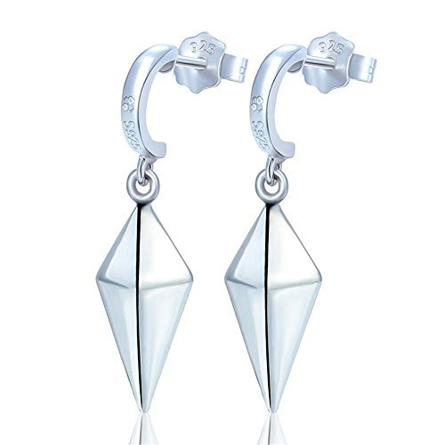 New 1 Pair 2 pcs Anime Fairy Tail Erza Eardrop Cosplay 925 Silver Drop Earrings Pendant Jewelry Cosplay Accessories Gift