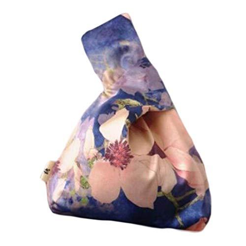 Wukong Paradise Bolso nudo de kimono japonés Totes Wallet Satchels Bolsa de playa Tamaño pequeño-A36