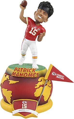NFL Spinning Base Bobbleheads Patrick Mahomes (Kansas City Chiefs) by Foco