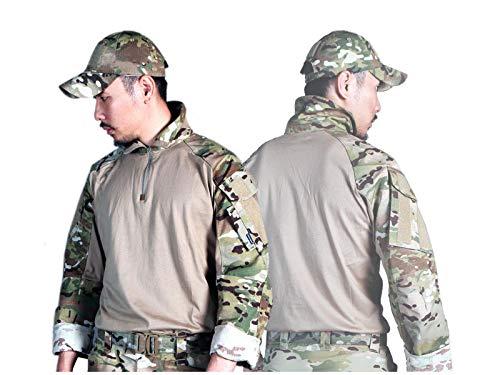 Elite Tribe Emerson Airsoft Tactique Militaire Chemise Combat Gen3 Chemise (AOR1, XX-Large)
