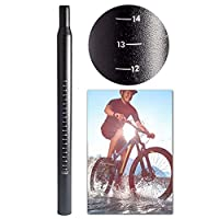 自転車マウンテンバイクシートポスト チューブロッド サイクリングパーツアクセサリー アルミ合金シートチューブ φ25.4/ 28.6 / 30.4 / 30.8/31.6mm×350mm