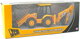 Jcb Construction Series Backhoe & Loader 1:32 Scale Replica Toy
