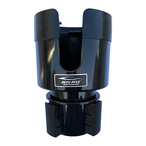 PFCC Car Cup Holder Expander Adapter with Adjustable Base - Rubber Tabs Cup Holder Fits Most 32 oz - 40 oz Bottles and Cup