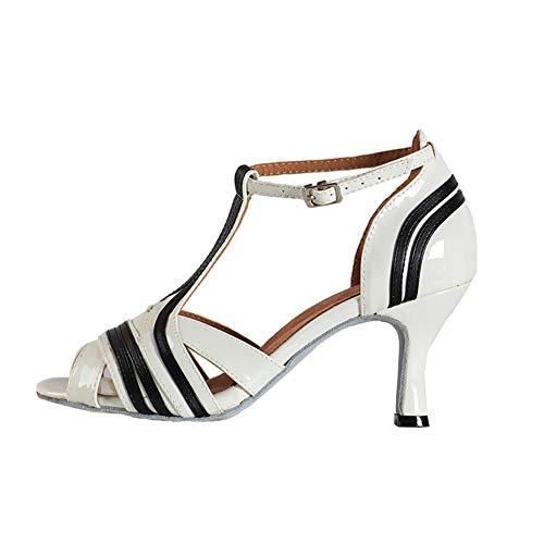 YKXLM Nuevas Mujeres Zapatos de Baile de Tango Salón de Baile Latino...