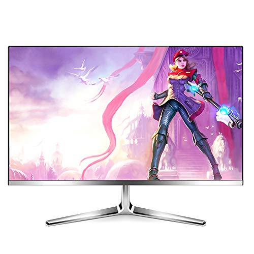 YILANJUN Monitor de 23,8' Full HD de Oficina Empresarial (1920x1080, 5 ms, 60 Hz, LED, DP + DVI + HDMI) Soporte Colgar en la Pared y Ajustar