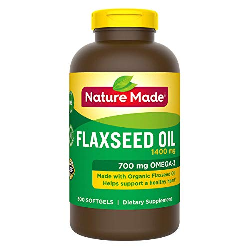 nature made flaxseed oils Nature Made Organic Flaxseed Oil - 300 Softgels
