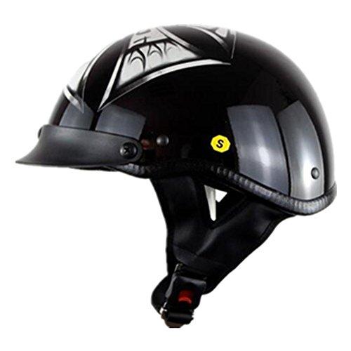 ハーレー バイクヘルメット 半キャップ ハーフヘルメット 春 夏 秋 ヘルメット バイク用 PSC付き AN-51[商品11/XXL]