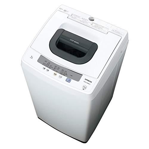 日立 5.0kg 全自動洗濯機 ピュアホワイトHITACHI NW-50E-W