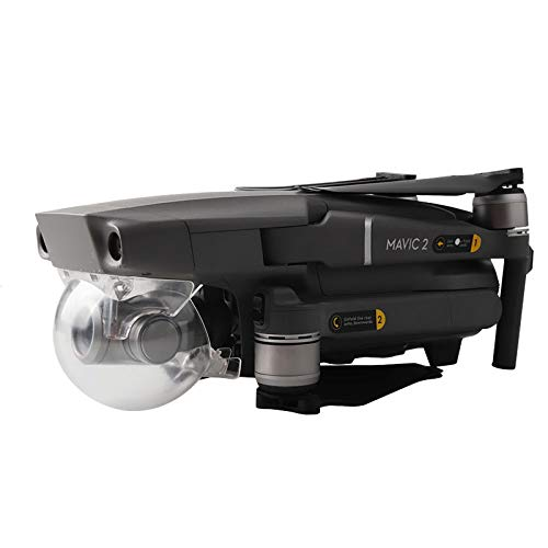 ACHICOO Drohne Gimbal Lock Stabilisator Kamera Cap Guard Schutzhülle Schutz für D-J-I MA-VIC 2 Pro Transparent