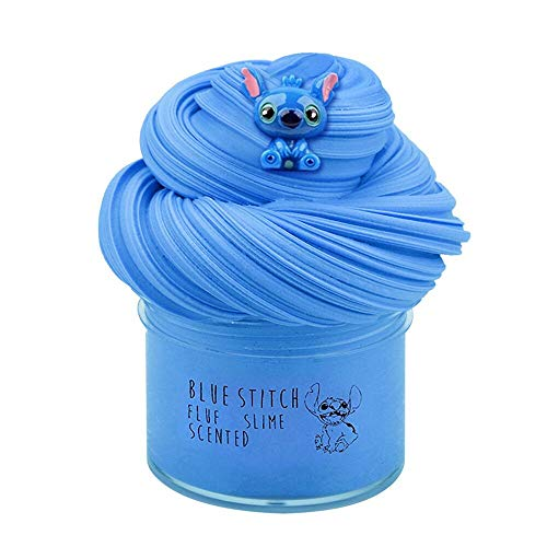 Newest Blue Slime,Super Soft and Non-Sticky(7oz 200ML)