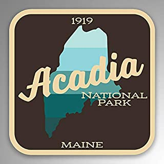 JB Print Magnet Acadia National Park Vinyl Decal Sticker Car Waterproof Car Decal Magnetic Bumper Sticker 5