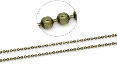 HDSupplies 1510pcs Antique Bronze Tone Open Jump Rings Assorted Sizes 3mm 4mm 5mm 6mm 7mm 8mm 9mm