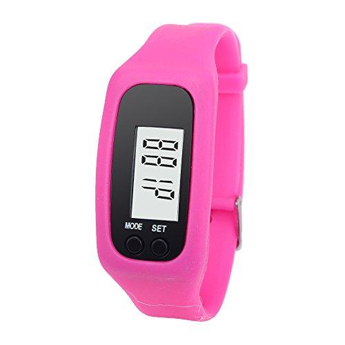 cebbay Relojes Mujeres Pas LCD Digital pédomètre Corriendo Paso a Paso Contador de calorías Relojes niños niña
