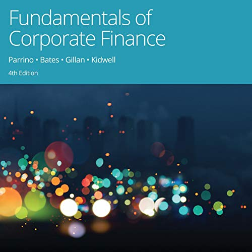 Fundamentals of Corporate Finance, 4th Edition cover art
