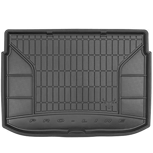DBS Tapis de Coffre Auto - sur Mesure - Bac de Coffre pour Voiture - Rebords Surélevés - Caoutchouc Haute qualité - Antidérapant - Simple d'entretien - 1766546