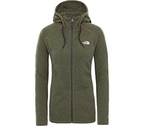 THE NORTH FACE Damen Mezzaluna Fleecejacke grün M