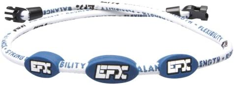 EFX Nylon Corded Necklace White Blue 24 Inch product image