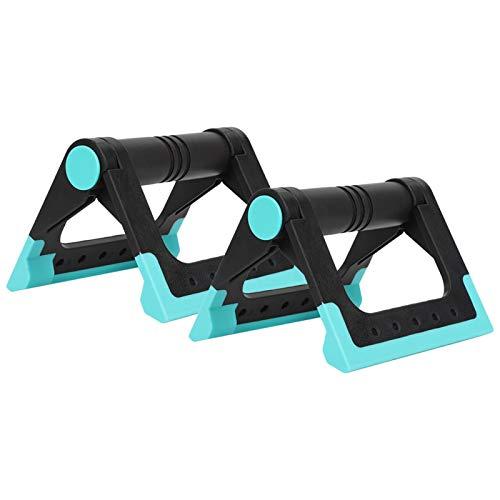 Germerse Empuje hacia Arriba Ejercitador Empuje hacia Arriba Barras Antideslizante Triángulo Fulcro para Ejercicios Músculos Fitness Gimnasio en casa
