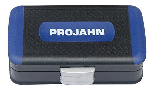 """Projahn 394072 Mini Steckschlüssel und Bit-Box 1/4\"""" , kompaktes Set mit verschiedenen Steckschlüssel, farbcodierten Bits: Schlitz, Kreuzschlitz, Torx , passend für nahezu jede Anwendung , 38-tlg."""