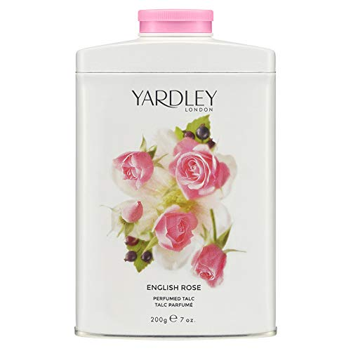 YARDLEY English Rose Talco perfumado 200 g