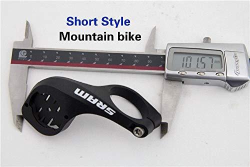 NOBRAND Montaje de la Bicicleta Computadora Camino MTB GPS Soporte Holder Garmin Edge 520 820 1000 1030 Ciclismo Accesorios (Size : MTB(Short Model))