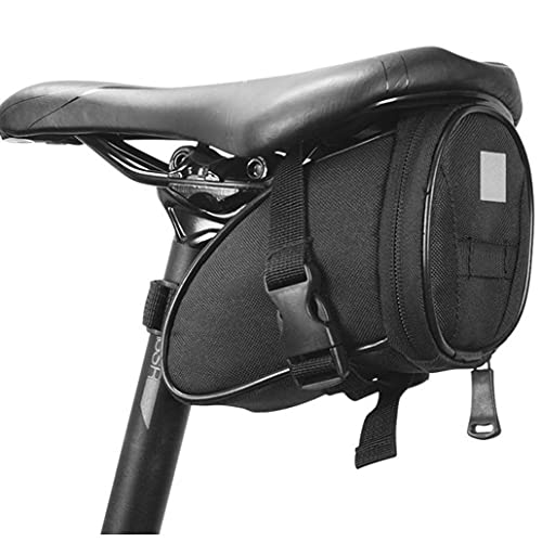 Bolsa Silla Montar Bicicleta Bajo Paquete Asiento Ampliable Bici Bicicleta Almacenamiento Bolsa Almacenamiento Accesorios para Ciclismo Montaña Road MTB Bicicletas